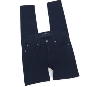 7 For All Mankind Navy Jegging Size 26
